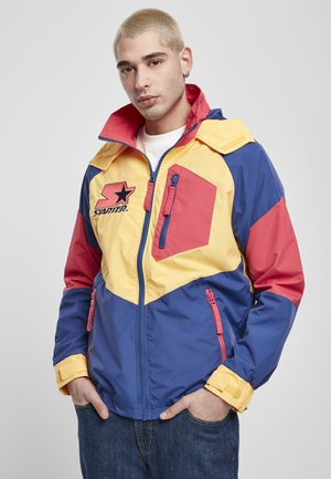 MULTICOLORED LOGO - Kevyt takki - red/blue/yellow