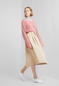 Polo Ralph Lauren - PIECE  - A-line skirt - classic tan - 1