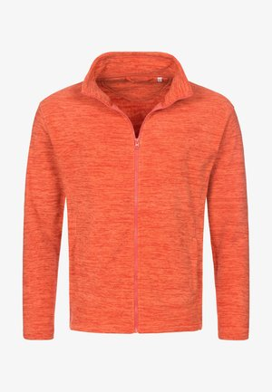 Fleece jacket - pumpkin melange
