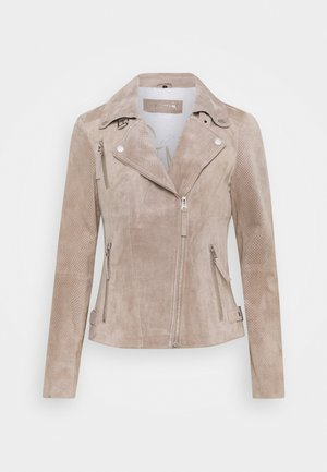 SUMMER BIKER PRINCESS - Leather jacket - wood