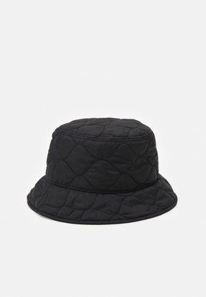 QUILTED BUCKET HAT UNISEX - Chapeau - regular black