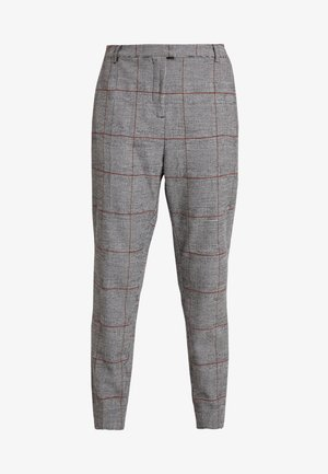 ASTA SUITING PANTS - Trousers - pitch black