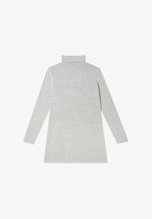 Gebreide jurk - light grey