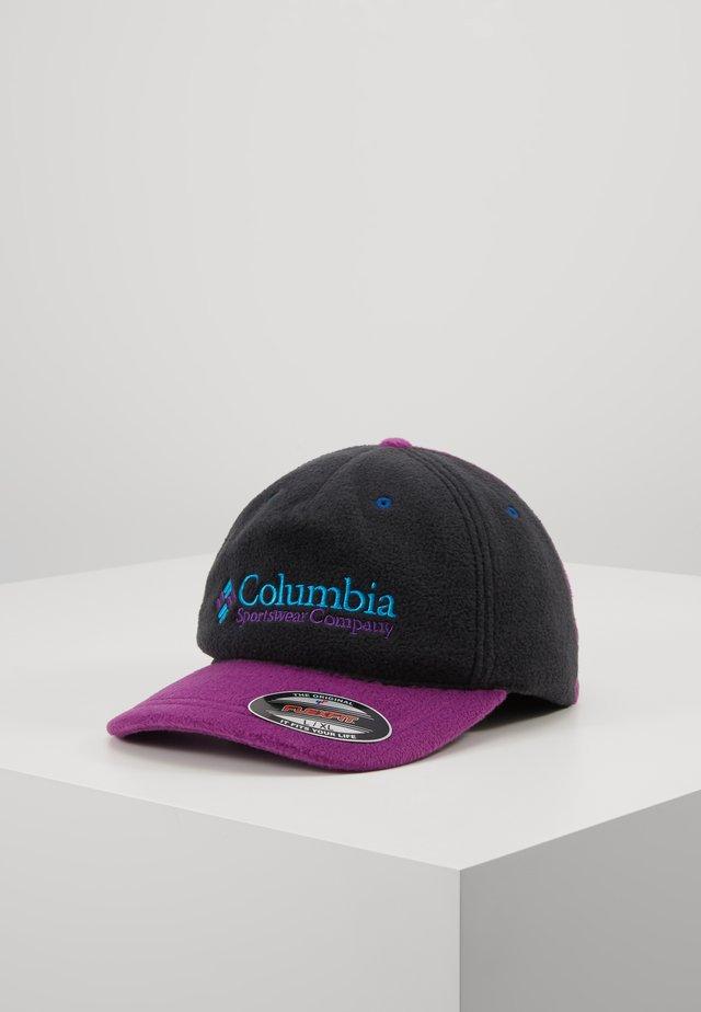COLUMBIA - Casquette - black/plum