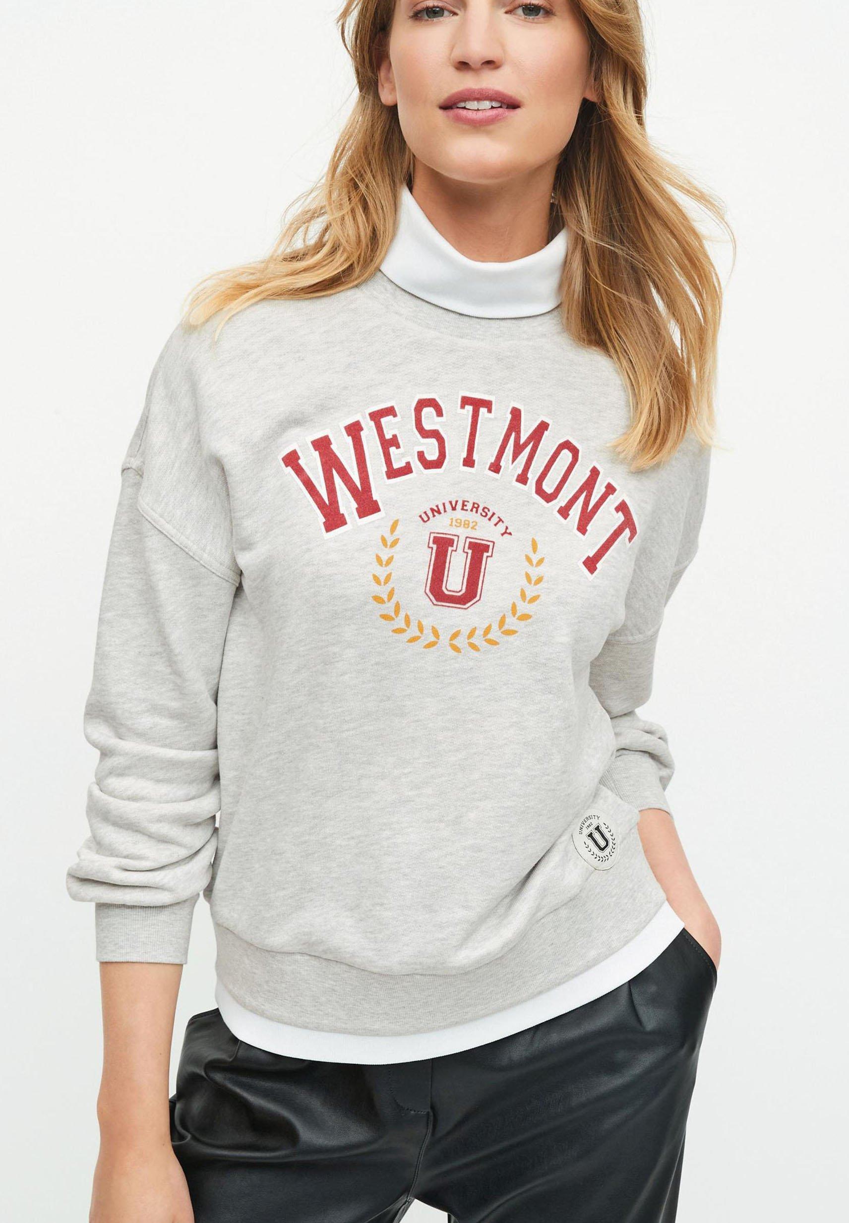 Damen WITH MOCK ROLL NECK - Sweatshirt