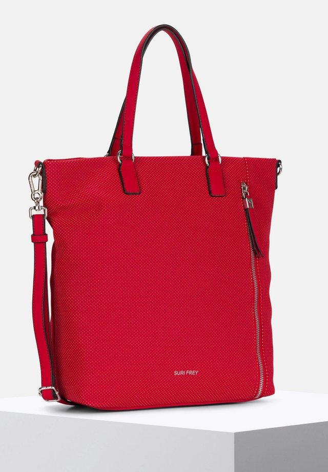 ROMY HETTY - Tote bag - red