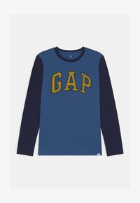 GAP - BOY LOGO  - Long sleeved top - chrome blue - 0