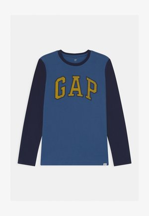 BOY LOGO  - Long sleeved top - chrome blue