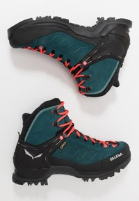 Salewa - MTN TRAINER MID GTX - Hiking shoes - atlantic deep/ombre blue - 1
