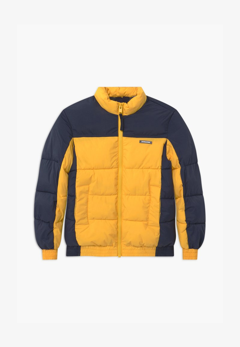 Jack & Jones Junior - JORSPECTOR PUFFER - Zimní bunda - spicy mustard