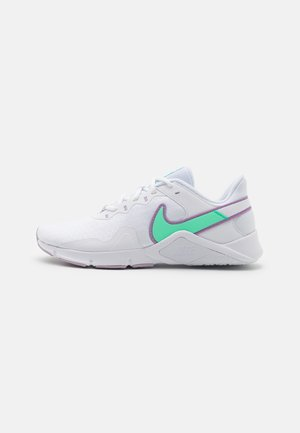 LEGEND ESSENTIAL 2 - Zapatillas de entrenamiento - white/green glow/violet shock/infinite lilac