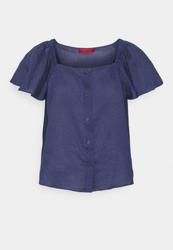 SUFFISSO - Blouse - midnight blue