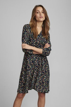 NUDACEY DRESS  - Denní šaty - dark sapphire