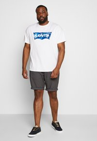 TOM TAILOR MEN PLUS - Shorts - tarmac grey - 1