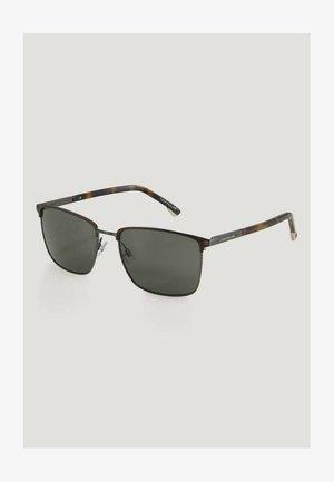 Sunglasses - brown matt/gun