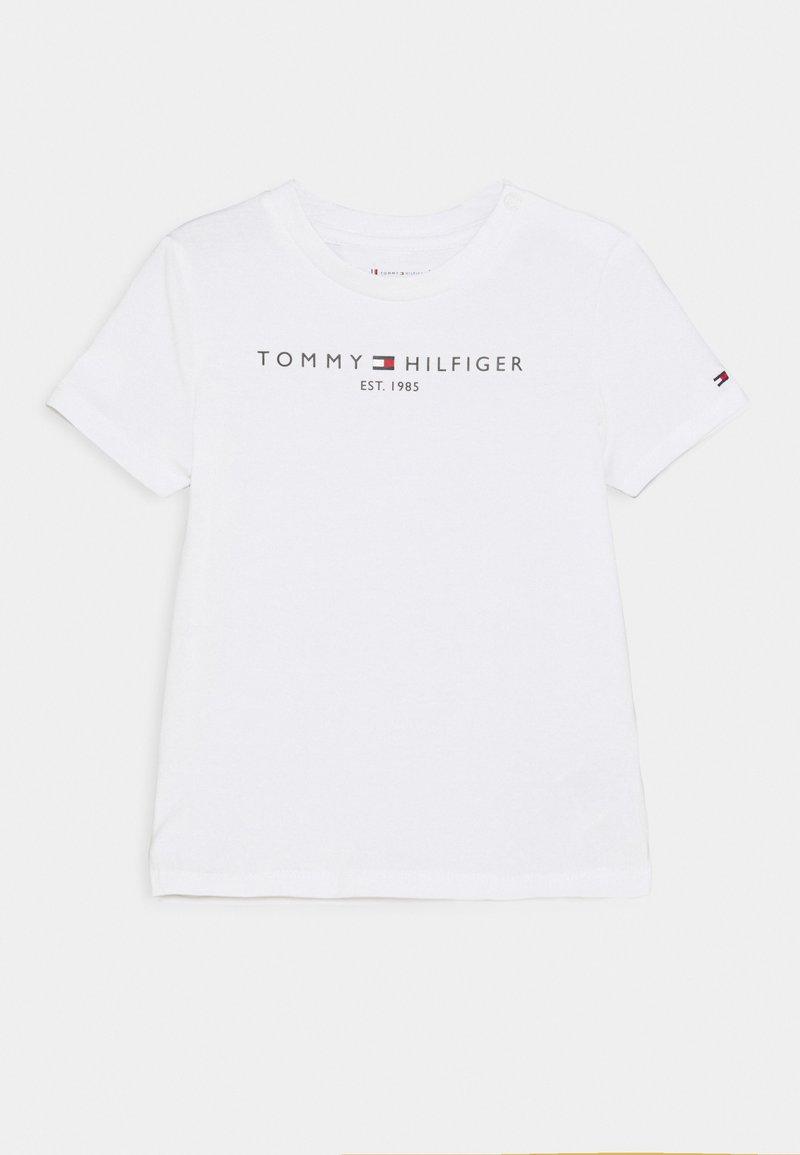 Tommy Hilfiger - BABY ESSENTIAL TEE UNISEX - T-shirt print - white