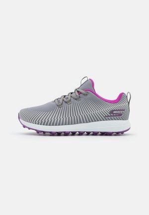 GO GOLF MAX - Golf shoes - gray/purple