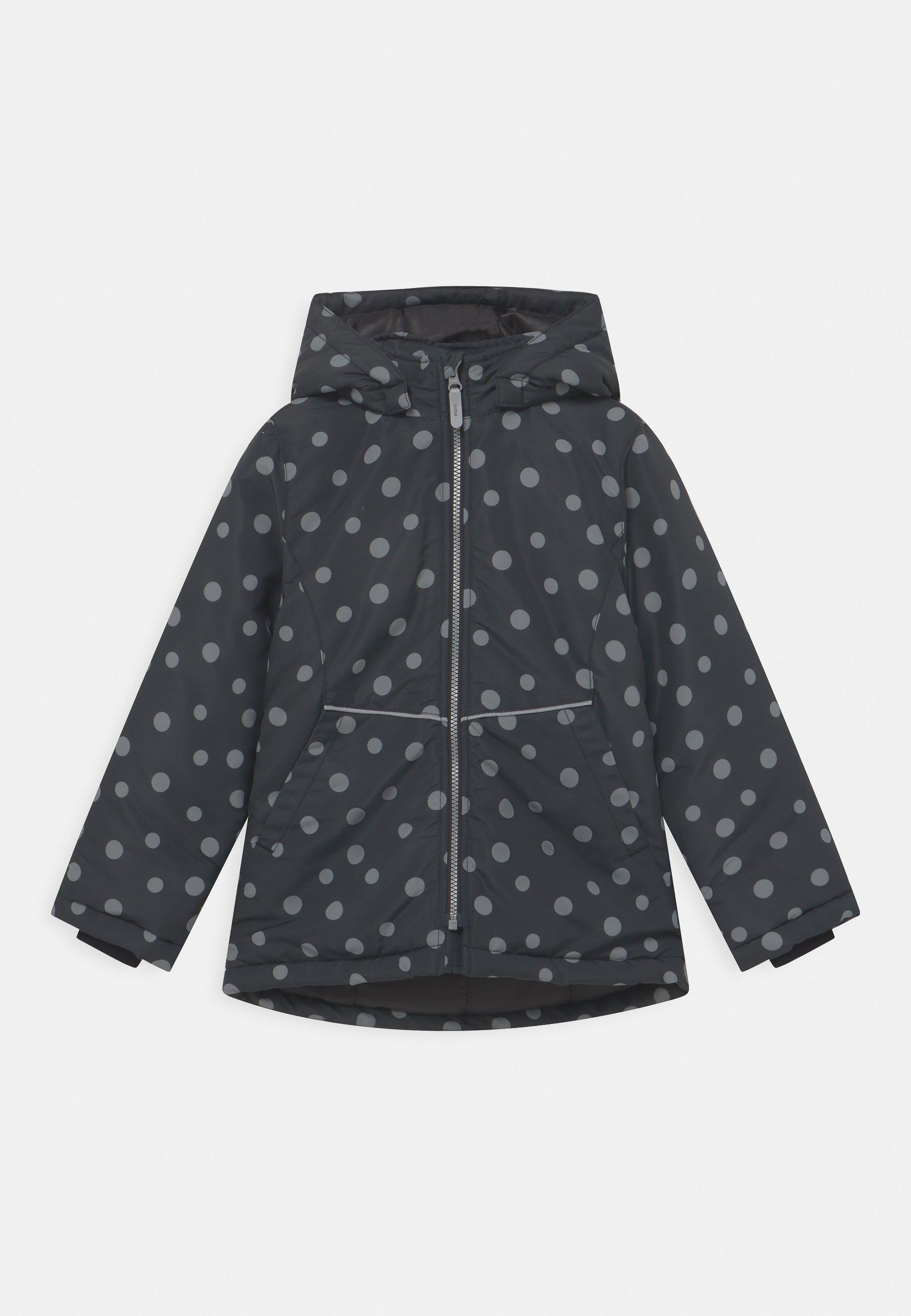 Kids NKFMAXI JACKET DOTS - Winter jacket
