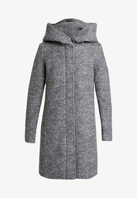 Vila - Kåpe / frakk - medium grey melange - 3