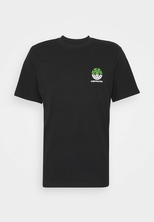 PROTON SEAL - T-shirts print - flint black