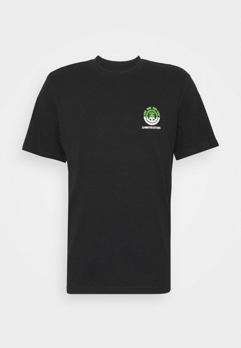 Element - PROTON SEAL - Print T-shirt - flint black
