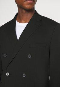 Selected Homme - SLHSLIM MAZELOGAN SUIT - Oblek - black - 7