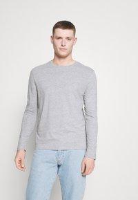 Pier One - 5 PACK - Långärmad tröja - white/dark blu/grey - 3