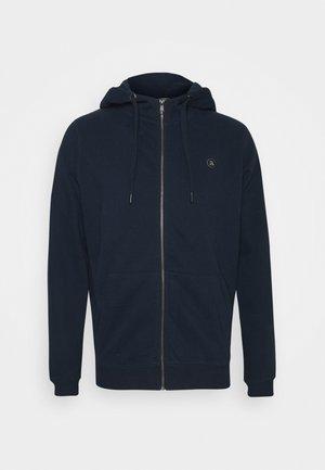 AKELLIOTT HOODIE - Zip-up hoodie - dark blue