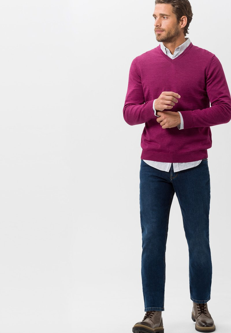 BRAX - STYLE COOPER  - Straight leg jeans - blue