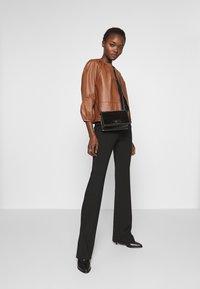 MAX&Co. - DEPONGO - Veste en cuir - brown - 1