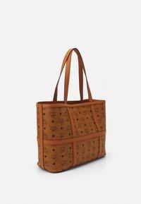 MCM - DELMY VISETOS SHOPPER MEDIUM - Tote bag - cognac - 2