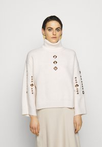 Pinko - GUYANA SWEATER - Sweter - white - 0
