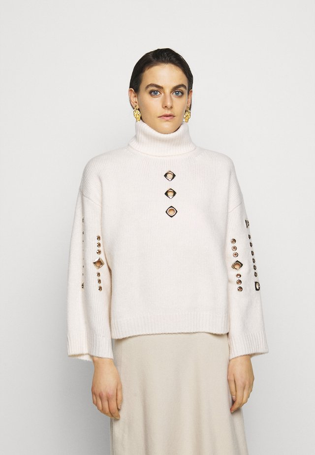 GUYANA SWEATER - Strickpullover - white