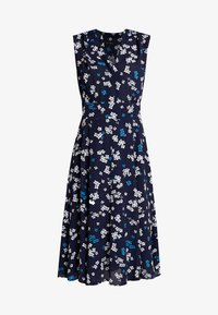 Marc O'Polo - DRESS FEMININE SHAPE FLARED - Day dress - dark blue - 3