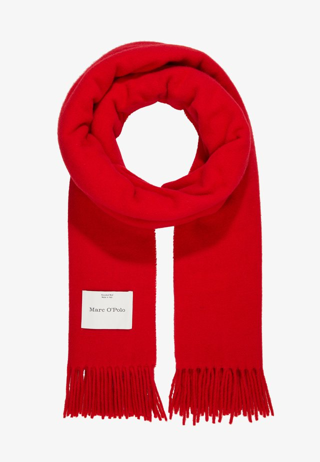 SCARF COSY TONAL - Scarf - cranberry red