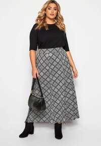 Yours Clothing - Maxi skirt - grey - 1