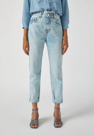 Jeans Straight Leg - light blue