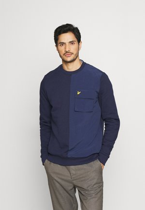TECH POCKET - Sweatshirt - navy
