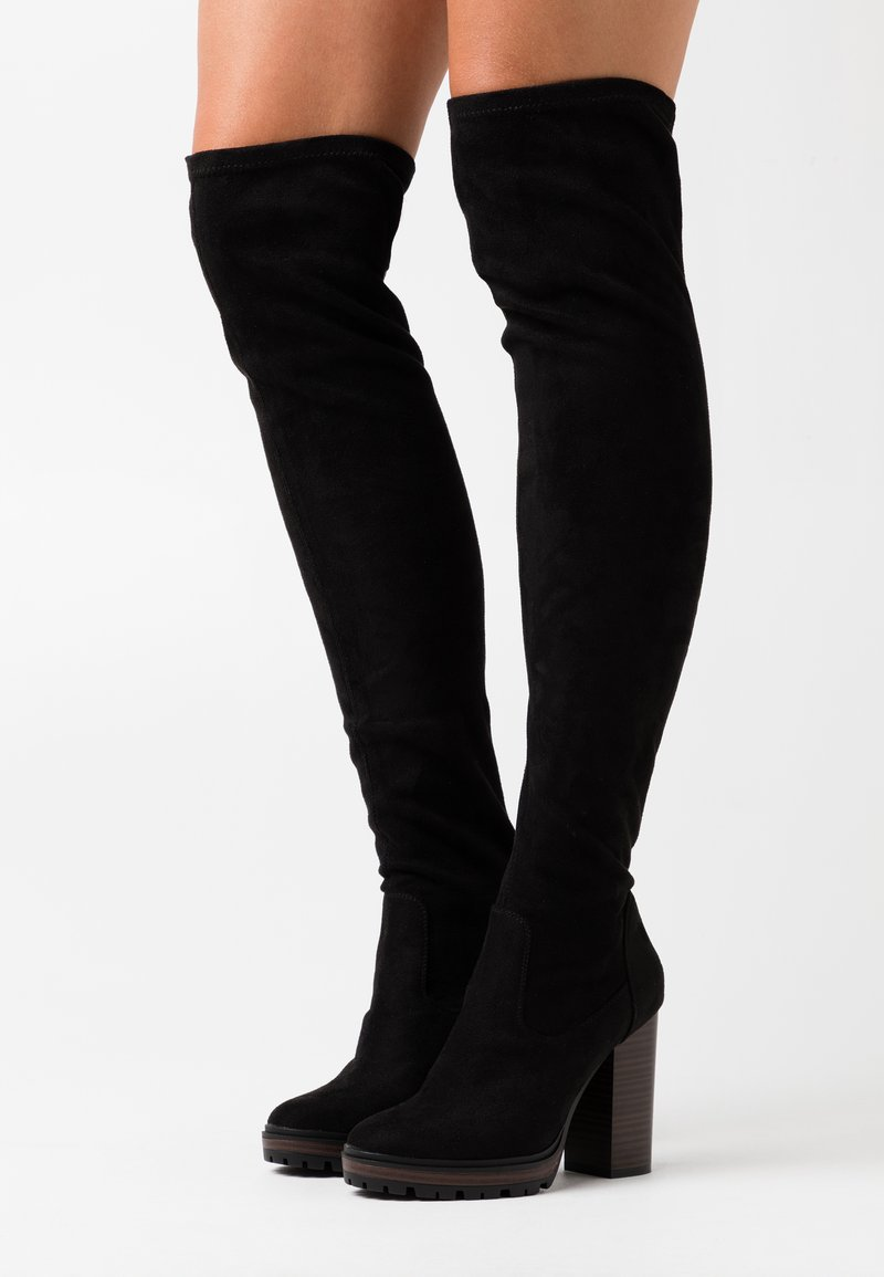 ONLY SHOES - ONLTAYA LIFE - High heeled boots - black