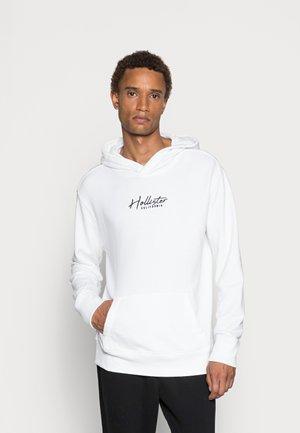 SOLID SCRIPT - Sweatshirt - white