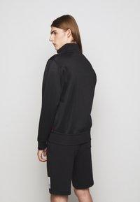 Polo Ralph Lauren - TRACK - Felpa con zip - black - 2