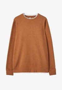 PULL&BEAR - Sweatshirt - mottled brown - 5