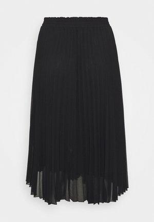 CARNEWSARAH CALF SKIRT - A-snit nederdel/ A-formede nederdele - black