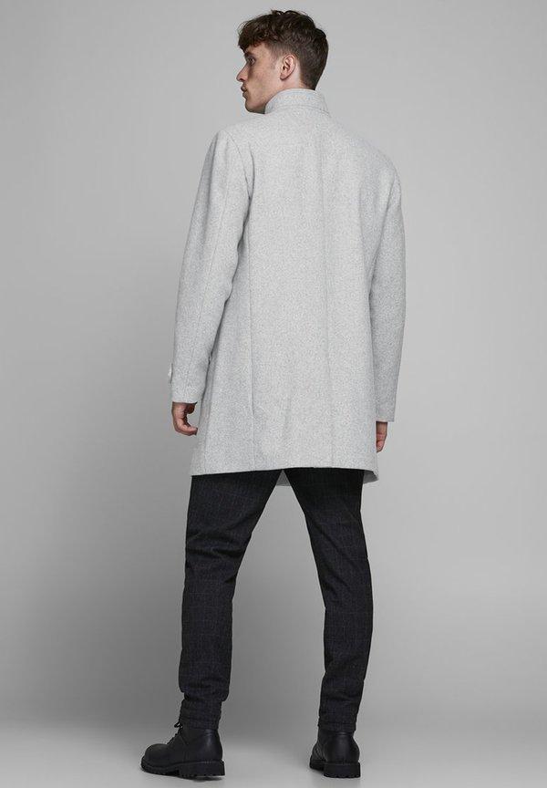 Jack & Jones PREMIUM Płaszcz wełniany /Płaszcz klasyczny - light grey melange/jasnoszary Odzież Męska NEZR