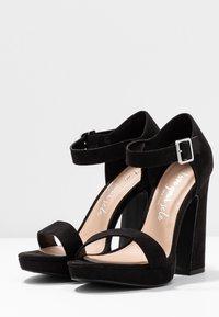 New Look - SNOWZ - Sandales à talons hauts - black - 4
