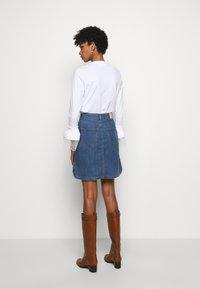 See by Chloé - A-line skirt - deep denim - 2