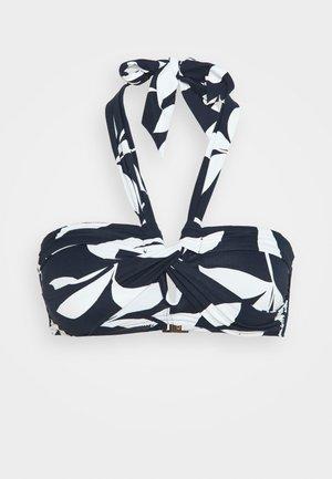 MONO - Top de bikini - navy