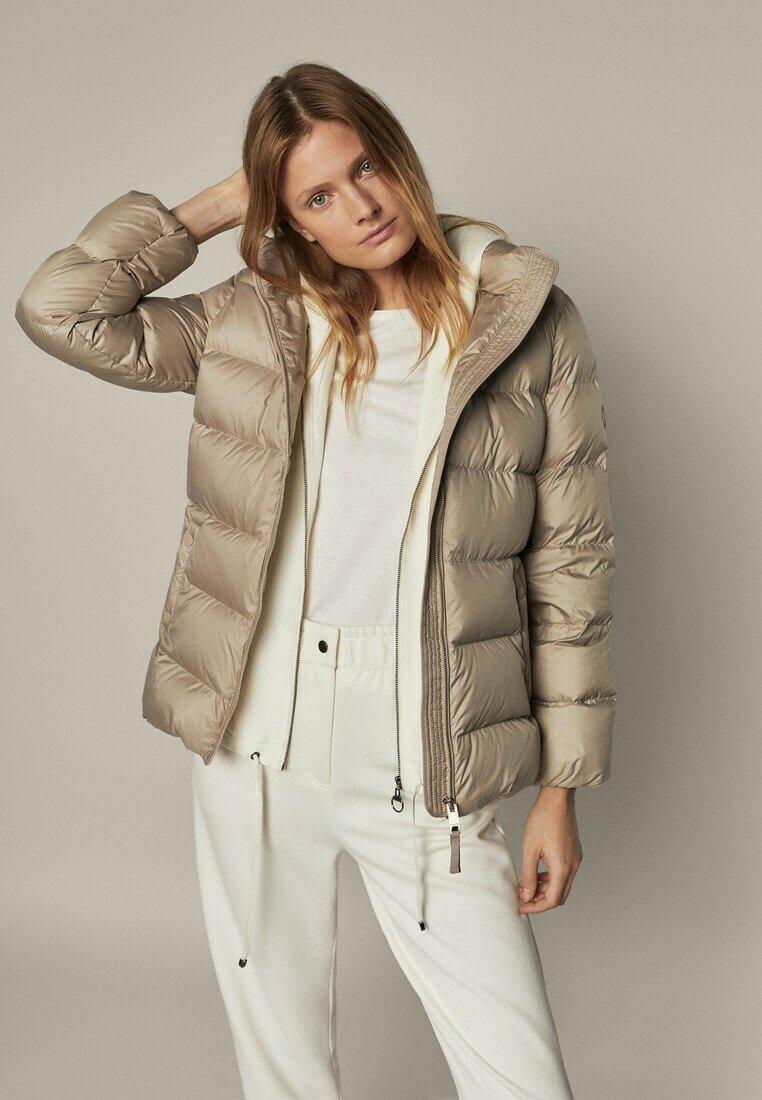 Massimo Dutti - Down jacket - beige
