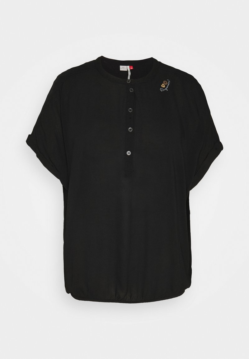 Ragwear Plus - RICOTA - Triko spotiskem - black