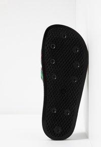 adidas Originals - ADILETTE SLIP-ON-DESIGN SHOES - Sandály do bazénu - core black/red/footwear white - 4